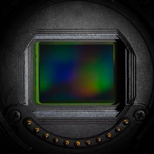microFourThirds Kamerasensor mit Crop-Faktor