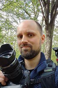 Sven Caspers mit seiner Kamera auf Fototour